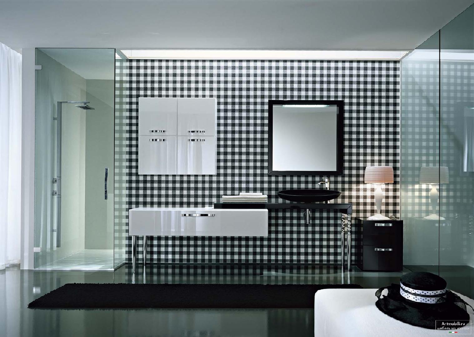 ванная в стиле арт-деко плитка
