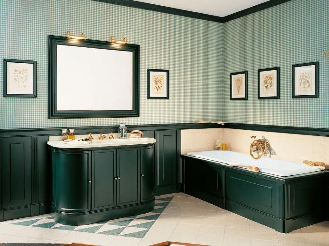 знлнная ванная в стиле арт-деко