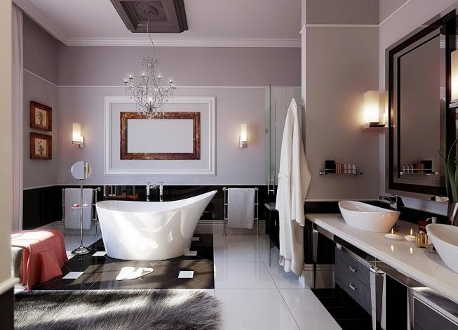 шикарная ванная комната 11 кв м